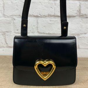 Vintage Moschino Redwall Heart Mini Crossbody Bag